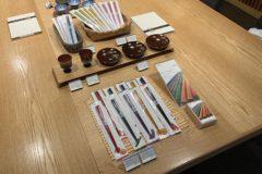 永楽屋喫茶室にて展示販売01