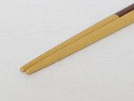 くつした黄色の箸先の拡大画像