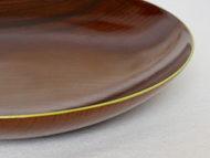 fuchidori大皿若苗色の縁の拡大画像