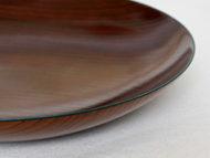 fuchidori大皿柚葉色の縁の拡大画像